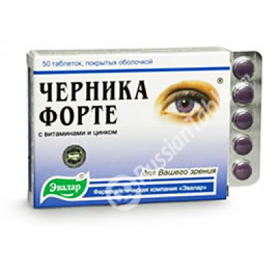 Bilberry-Forte with vitamins and zinc 100 tab.