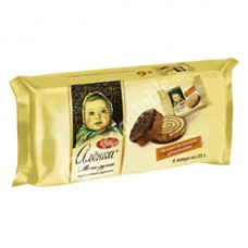 "Biscuit Cake ""Alyonka"" with taste of Creamy Caramel 210 g"
