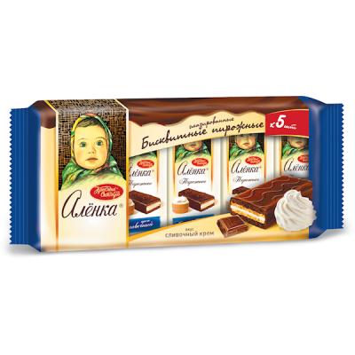 """BISCUIT CAKES """"ALENKA"""" CREAM TASTE 200G"""