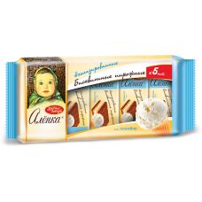 """BISCUIT CAKES """"ALENKA"""" PLOMBIR TASTE 175G"""