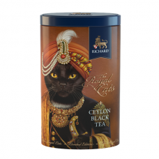 "Black Ceylon leaf tea ""Richard"" The Royal Cats (Black Cat) 80g"