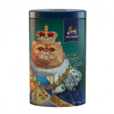"Black Ceylon leaf tea ""Richard"" The Royal Cats (Red Cat) 80g"