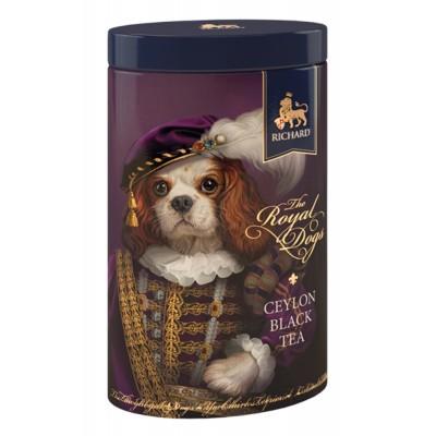 "Black Ceylon Leaf tea ""Richard"" The Royal Dogs (Spaniel) 80g"
