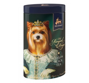 "Black Ceylon Leaf tea ""Richard"" The Royal Dogs (York) 80g"