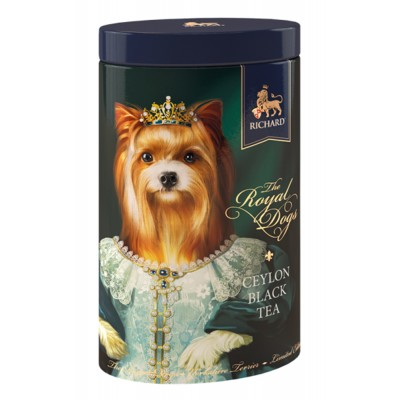 "Black Ceylon Leaf tea ""Richard"" The Royal Dogs (York) 80g"