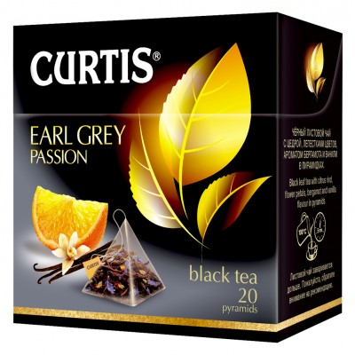 "Black tea ""Curtis"" Earl Grey Passion (20 count)"