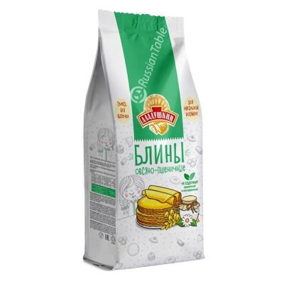 "Bliny (Pancakes) ""Aladushkin"" oat and wheat 350g"