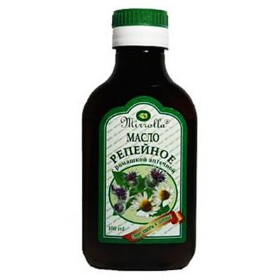 """Burdock oil with camomile """"Mirrolla"""""""