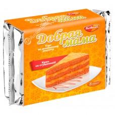 """Cake """"Good Mama"""" Cream with condensed milk"""