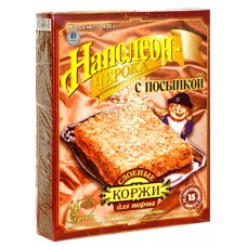 """Cake Layers """"Napoleоn"""" with Flakes 400g"""