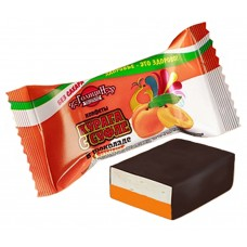 "Candies ""Apricot"" with souffle (Sugar  FREE)"