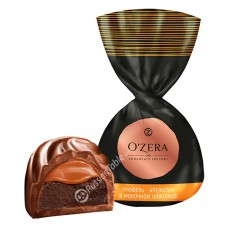 "Candies ""OZera"" Truffle - orange in milk chocolate"