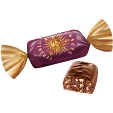 "Candies ""Versal"" Cocoa and Hazlentu Praline"