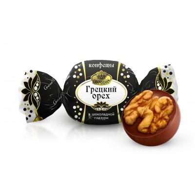 "Candies ""Walnut in Chocolate"" Russkoe Drage"