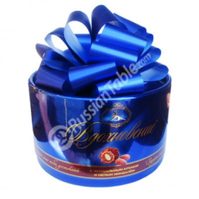 """Candy """"Artpassion"""" with Almond Cream and Whole Almond (Bow Box) 400gr"""