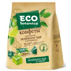 "Candy ""Eco-botanica"" with green tea extract and vitamins"