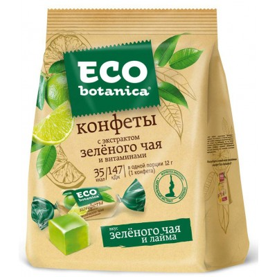 """Candy """"Eco-botanica"""" with green tea extract and vitamins"""