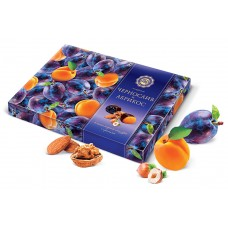 "Candy Set ""Mikaello"" Prune and Apricot in chocolate with nuts 220g"