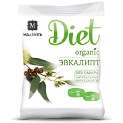 "Caramel ""Diet"" eucalyptus"