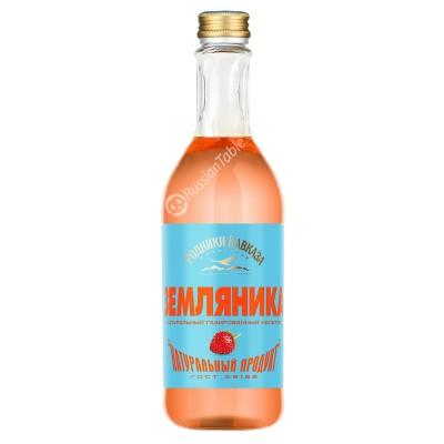"""Carbonated Drink """"Caucasus Springs"""" Strawberries 500ml"""