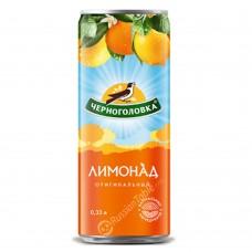 """Carbonated soft drink """"Chernogolovka"""" Lemonade 330ml"""