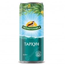 "Carbonated soft drink ""Chernogolovka"" Tarhun 330ml"