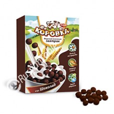 "Cereal Balls ""Korovka"" with Chocolate flavor 190g"