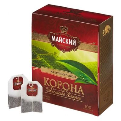 "Ceylon tea ""Maisky"" Crown of the Russian Empire (100 count)"