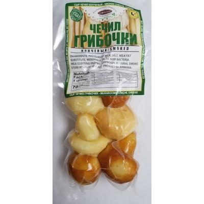 """Chechil Smoked Cheese """"Mushrooms"""" 200g"""