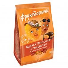 "Chocolate-Glazed Dried Apricot ""Petrovna"" with Almonds 200 g"