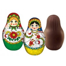 "Chocolate ""Matryoshka"" with Surprise 80g"