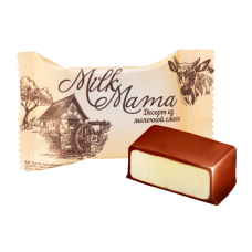 "Chocolates ""Milk Mama"" Souffle Dessert"