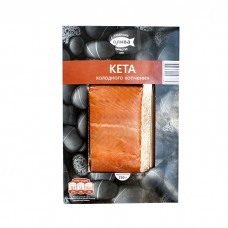 "Chum Salmon ""Oliva-Fakel"" Cold Smoked Fillet 250g"