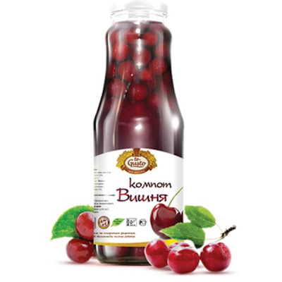 """Compote """"te Gusto"""" Cherry 1L"""