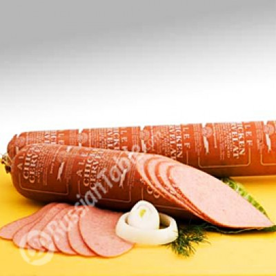 "Cooked smoked salami ""Chicken Servelat"" (stick +/-2.2lb)"