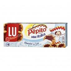 "Cookies Mini Rollos ""LU Pepito"" Milk Chocolate 225g"