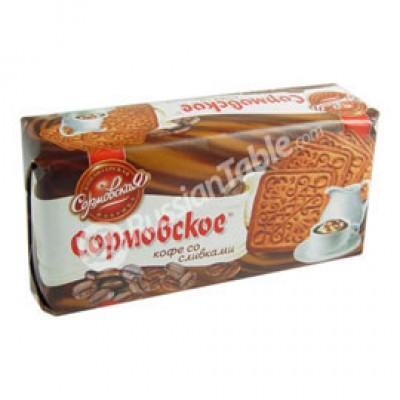 """Cookies """"Sormovskoe"""" Coffee and creme 200g"""