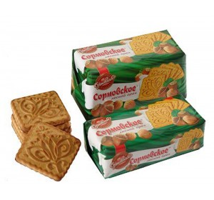 "Cookies ""Sormovskoe"" with hazelnuts 200g"