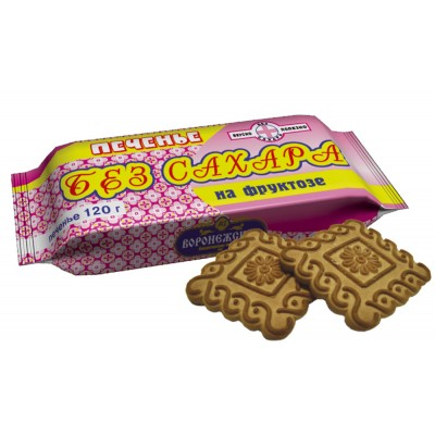 "Cookies ""Sugar free"" with fructose 220gr"