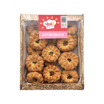 "Cookies ""URA"" Kruzhevnoe 300g"