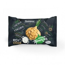 "Crackers Mini ""Priksy"" Sour Cream & Onions Taste 150g"