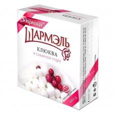 Cranberries in powdered sugar