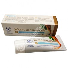 "Cream for the skin around the eyes ""Ginseng"", rejuvenating"