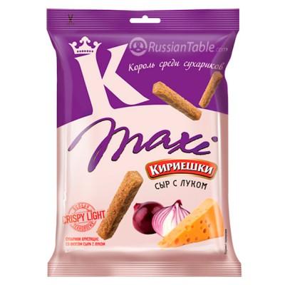 "Croutons ""Kirieshki MAXI"" cheese and onion flavour"