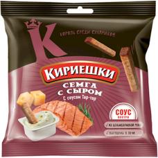 """Croutons """"Kirieshki"""" salmon & cheese 60g"""