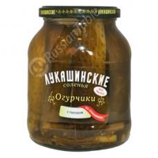 "Cucumbers ""Lukashinskie"" salt and dill"