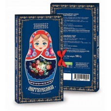 "Dark Chocolate ""Russian Matreshka"" 100g"