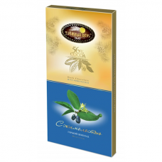 "Dark Chocolate"" Taiga Taste"" with Honeysuckle (Zhimolost) 100g"