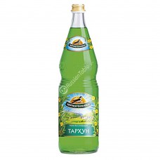 "Drink ""Chernogolovka"" Tarkhun (Tarragon) 1l glass"