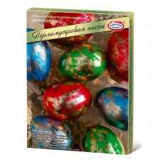 "Easter Egg Coloring ""Pearl Easter"" Golden Dew (3pc)"